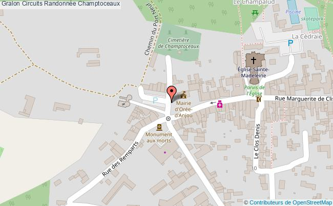 plan Circuit Depuis Le Champalud