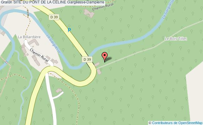 plan Circuit Jaune-la Gargilesse Secrète Et Sauvage