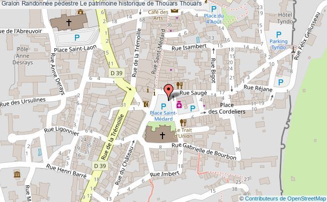 plan Circuit Le Patrimoine Historique De Thouars