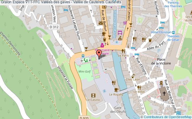 plan Circuit Vtt N° 1 La Raillère