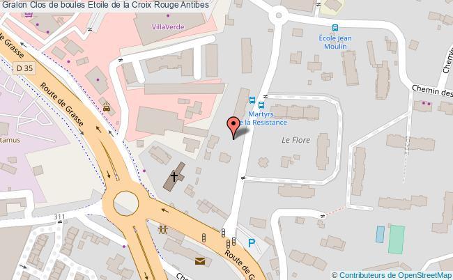 plan Clos De Boule Etoile De La Croix Rouge (b.c.d.e.)