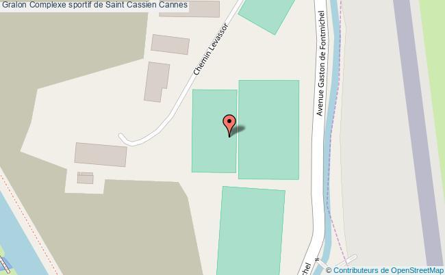 plan Complexe Sportif De Saint Cassien