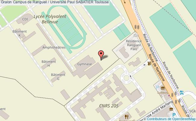 Calendrier Universitaire Paul Sabatier.Court De Tennis Couvert Campus De Rangueil Universite Paul