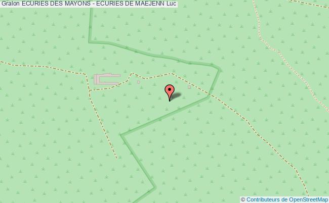 plan Ecuries De Maejenn Cso (saut D'obstacle)