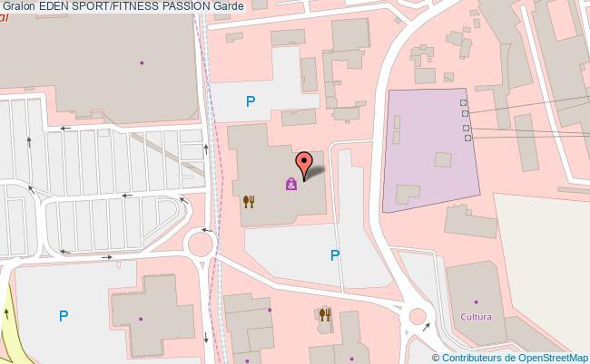 plan Eden Sport. Salle De Fitness Passion