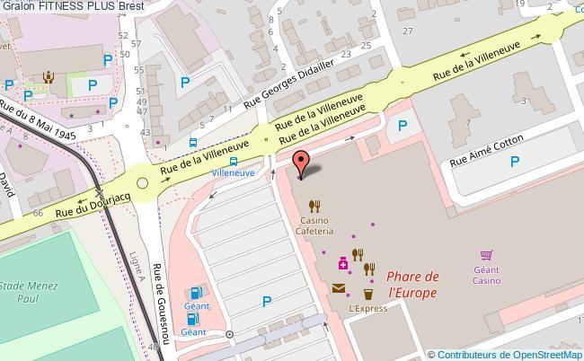 plan Espace Cours Collectifs Vidéo