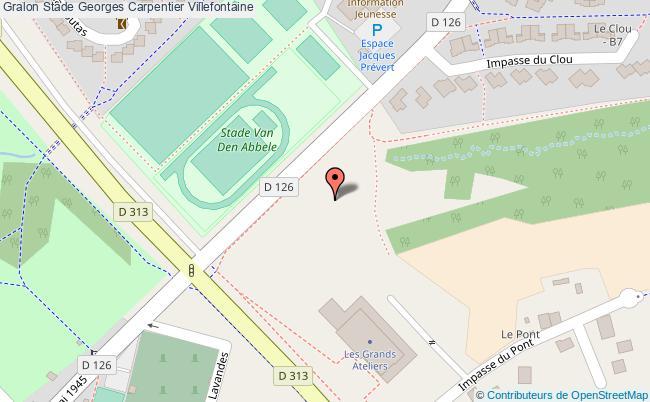 plan Espace Sportif Rudi Van Den Abbeele