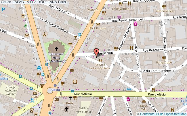 plan Espace Villa D'orleans