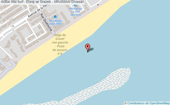 Etang du grazel gruissan kite surf etang de grazels gruissan gruissan - Office du tourisme de gruissan ...