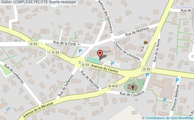 plan Fronton Place Libre