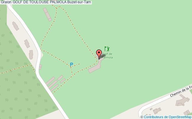 plan Golf De Toulouse Palmola