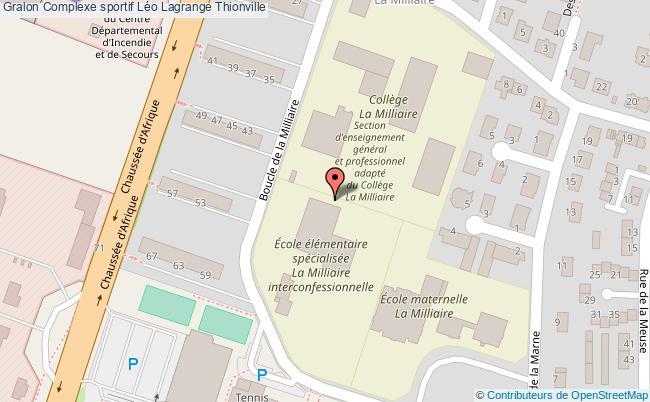 Grande salle complexe sportif l o lagrange thionville - Piscine leo lagrange grande synthe ...