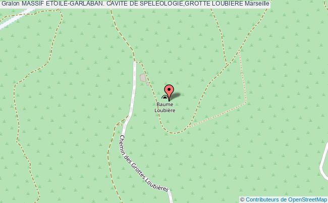 plan Grotte Loubiere