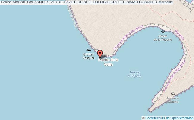 plan Grotte S/mar Cosquer