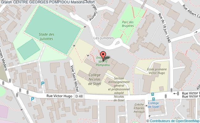 GYMNASE B - CENTRE GEORGES POMPIDOU Centre georges pompidou Maisons-Alfort