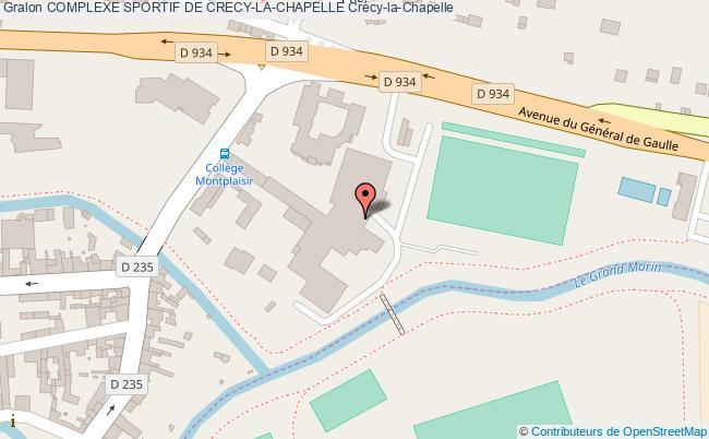 Gymnase College Mon Plaisir Complexe Sportif De CrecyLaChapelle
