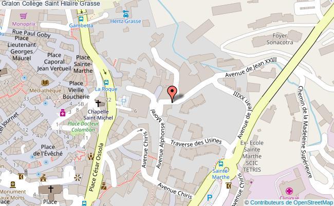 Gymnase Collège saint hilaire Grasse