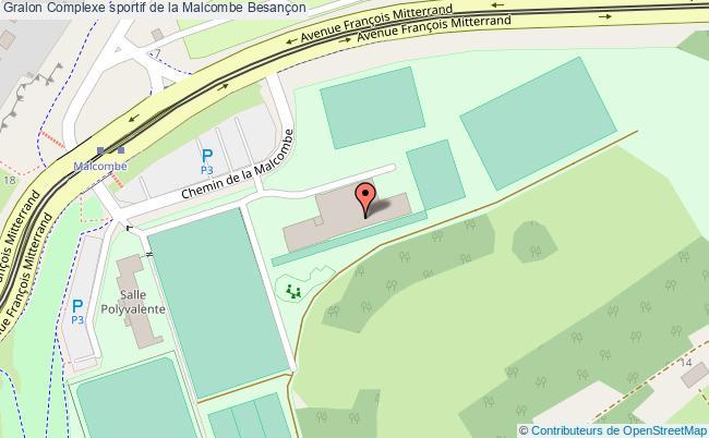 plan Gymnase Cosec De La Malcombe
