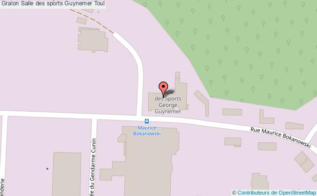 Gymnase guynemer salle des sports guynemer toul for Toul 54200 plan
