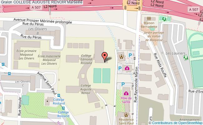 plan Gymnase Rostand-renoir