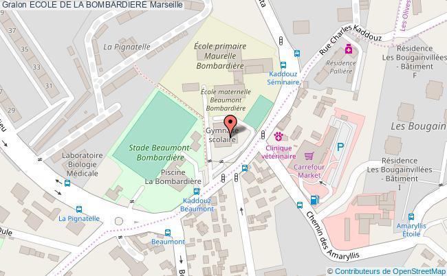 GYMNASE SCOLAIRE Ecole de la bombardiere Marseille