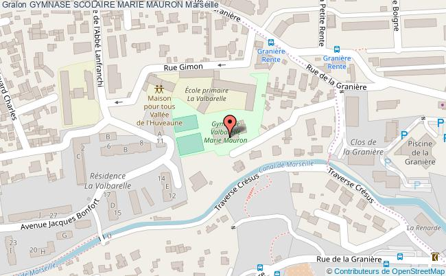 plan Gymnase Scolaire Marie Mauron
