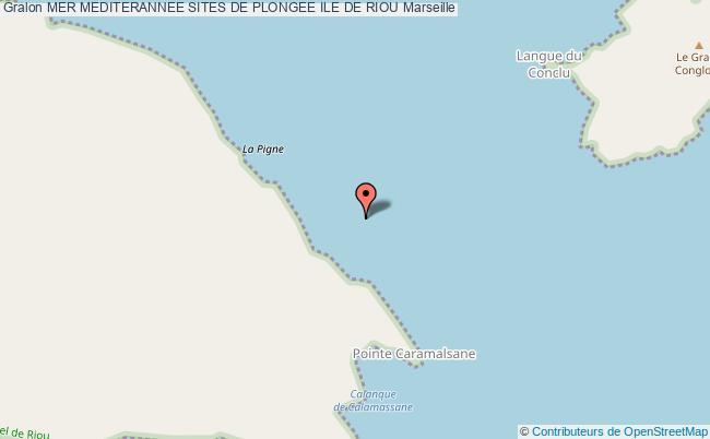 plan Ile De Riou Caramassaigne/le Pain De Sucre