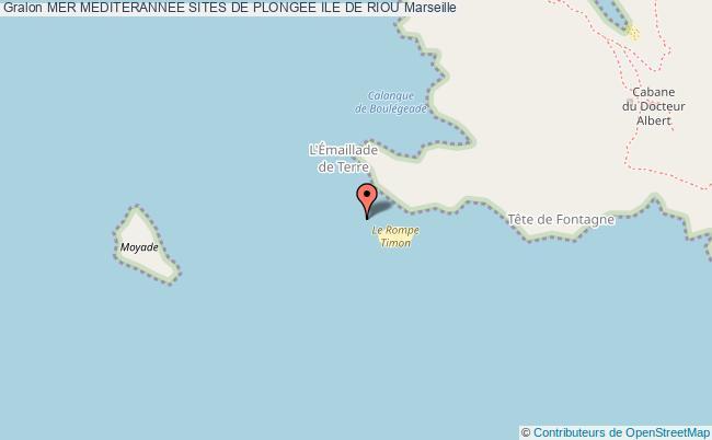 plan Ile De Riou Les Moyades De Terre