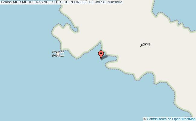 plan Ile Jarre La Grotte Arc En Ciel