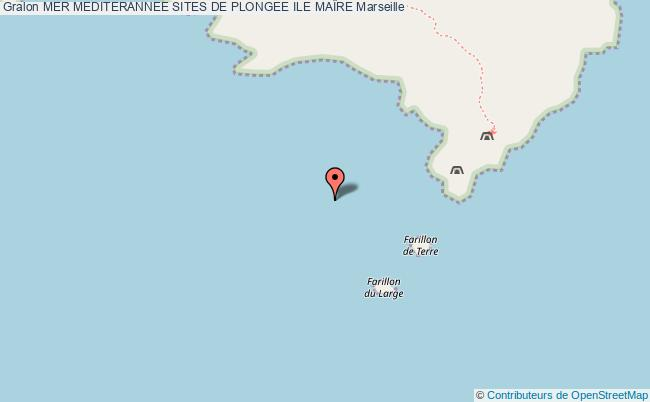 plan Ile MaÏre Epave  Le Liban