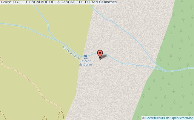 plan La Cascade De Doran