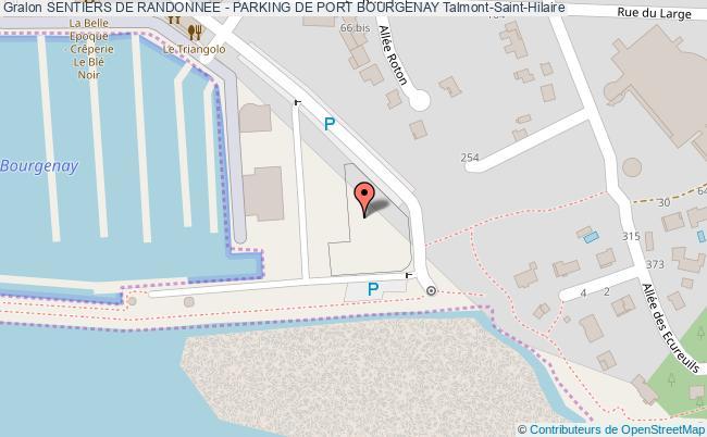 Le Bois De La Mine Sentiers De Randonnee Parking De Port Bourgenay