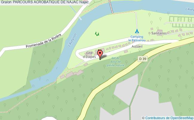 plan Parcours Acrobatique De Najac