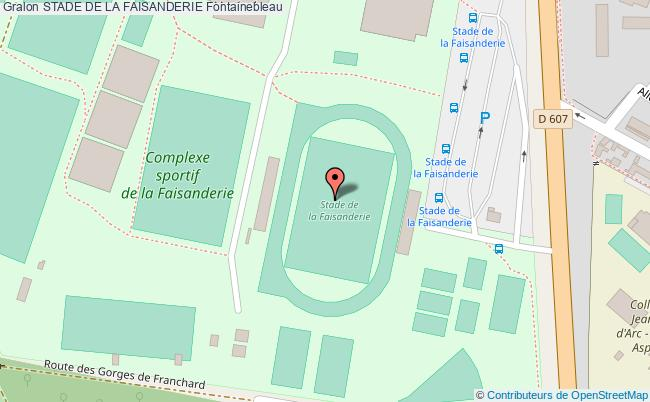 PARCOURS DE SANTE Stade De La Faisanderie Fontainebleau