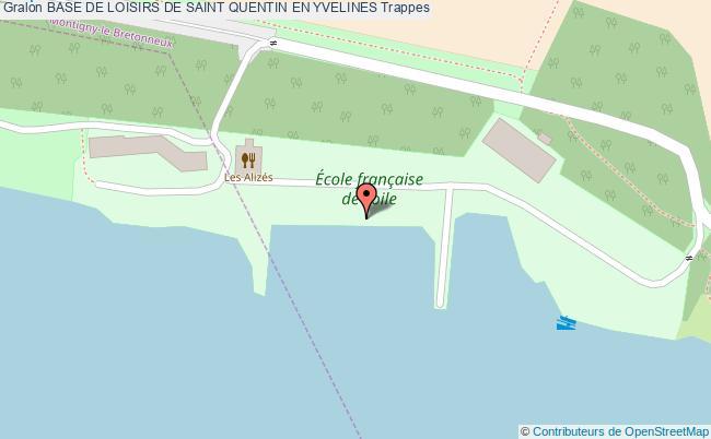 Parcours sante base de loisirs de saint quentin en for Piscine la bulle saint quentin