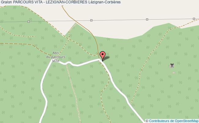 plan Parcours Vita De Lezignan-corbieres