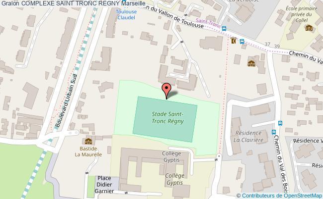 plan Piste De 100 M St Tronc Regny