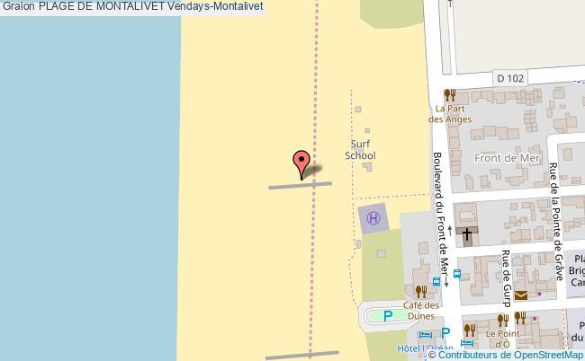 plan Plage De Montalivet Site De Surf