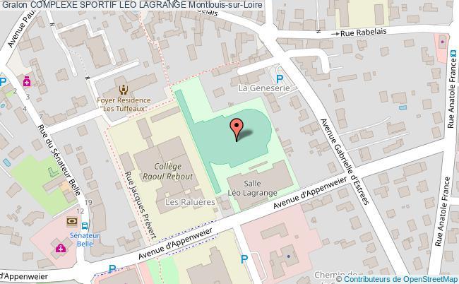 plan Plateau Du Collège Canuet