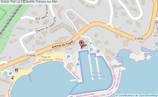 plan Port De La Figuierette
