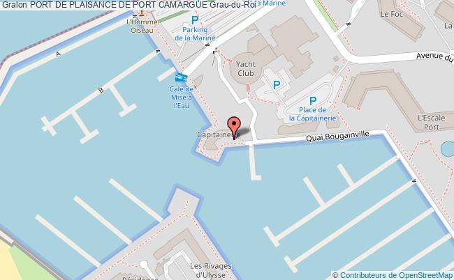 Port de plaisance de port camargue port de plaisance de for Plan grau du roi