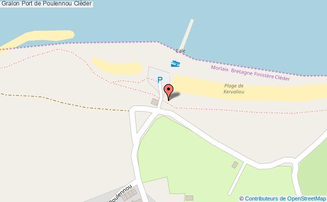 plan Port De Poulennou