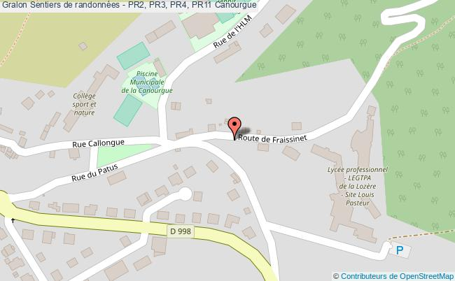 plan Pr 2 - Sentier La Chapelle De Saint Frézal