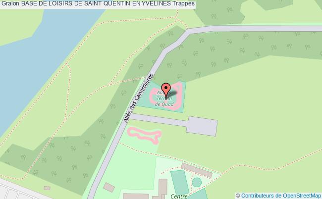 Quad piste base de loisirs de saint quentin en yvelines for Carte touristique yvelines