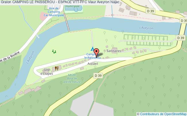 plan Ruisseau De Jouyre ( Circuit N°1)
