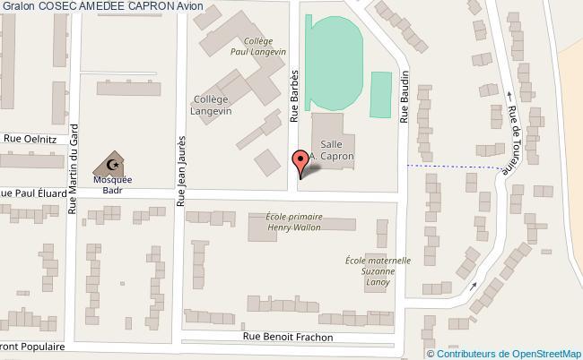 plan Salle Amedee Capron