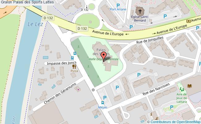Salle De Cours Collectifs Palais Des Sports Lattes
