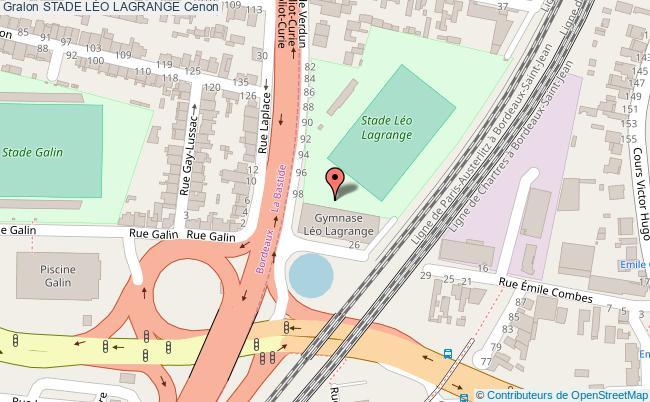 Salle De Gymnastique Sportive Stade L 201 O Lagrange Cenon