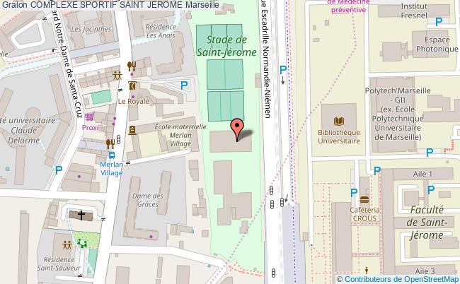 plan Salle De Judo Du Cosec St Jerome