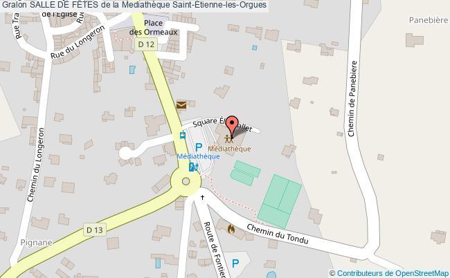 plan Salle De La Mediathéque